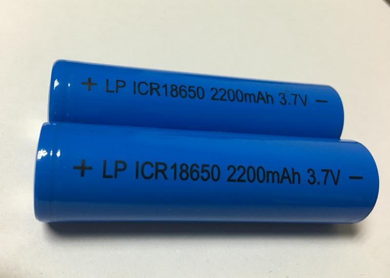 3.7V18650 Column Li-ion battery 2