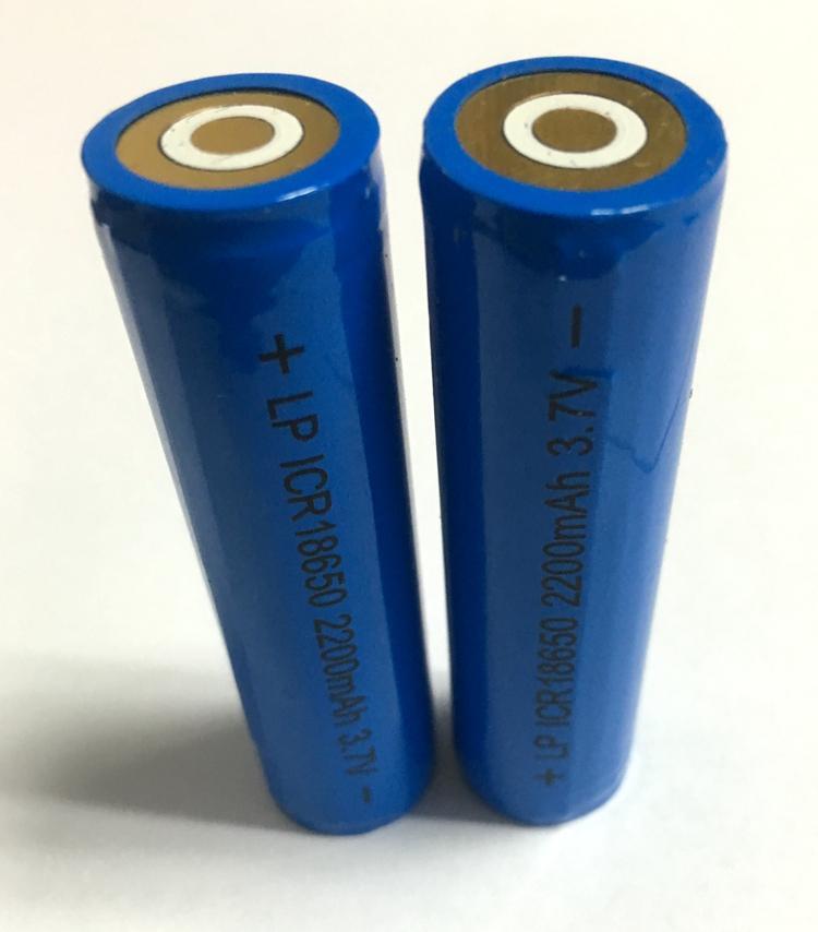 庭院灯充电头灯3.7V18650锂电池2200MAH手电筒移动电源足容量 3