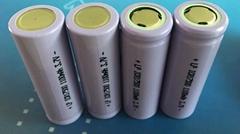 17500锂电池 3.7V 1100mah带保护板带线电子腰