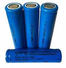 電池廠家16650鋰電池全新足容量3.7V圓柱鋰離子充電電池