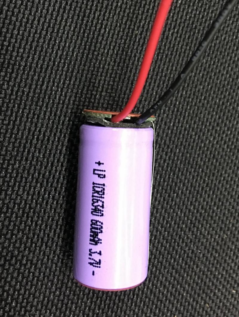 3.7V16340-600MAH 3