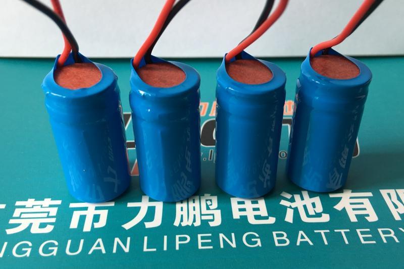 3.7V16340尖头锂电池600mah 16340电池组 4