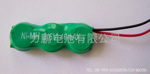 NI-MH Button Rechargeable Batterise 3.6VB40H 3