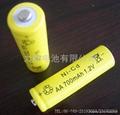 应急灯用镍镉6VSC1800MAH充电电池 5