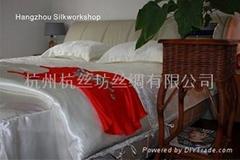 絲綢床上用品