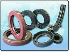 Pressure oil seals
