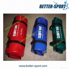 Strength Bags, Widely Used in Gym, Made of PU Leather and Filler