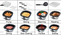 12in1 multifunction cooker