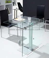 Folding furniture,folding table,glass table