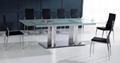玻璃餐桌,不锈钢餐桌,12人位餐台,10人位餐桌