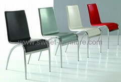 sell modern Steel dining chair with varous color favorable price