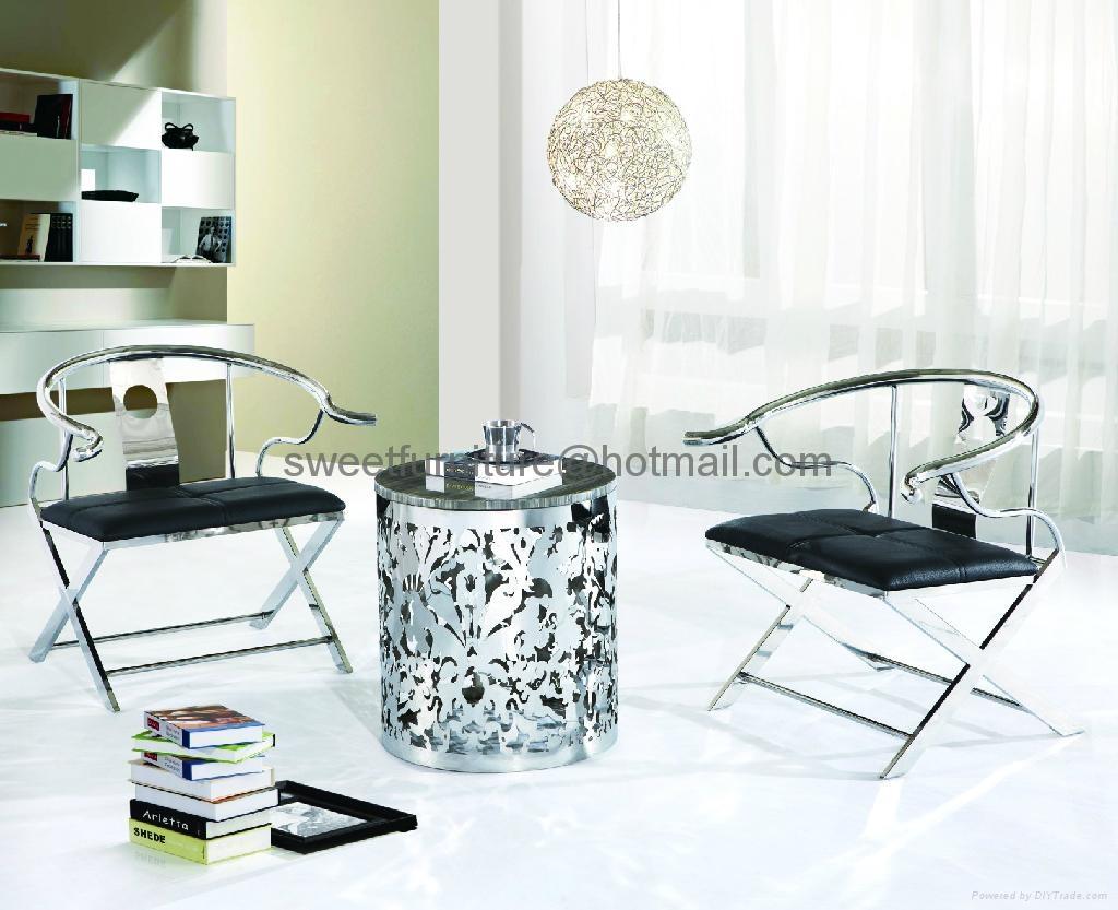 coffee table stainless steel table steel table  2