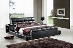 Sell double bed,Modern l