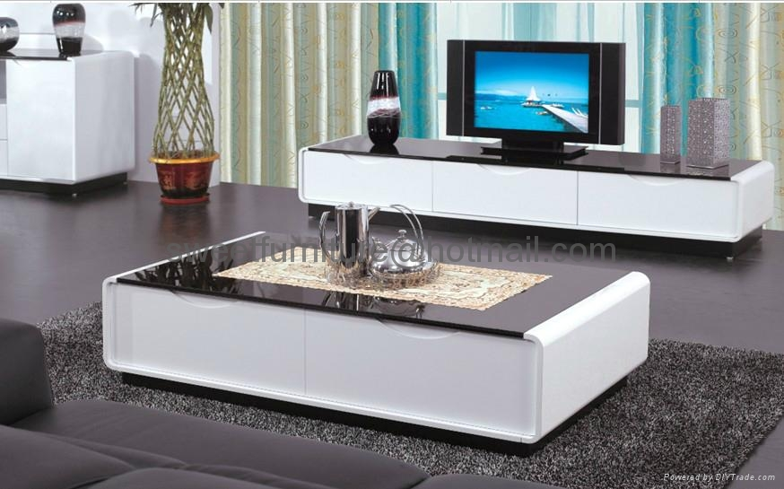 sell modern livingroom furniture set tv stand coffee table i china. Black Bedroom Furniture Sets. Home Design Ideas