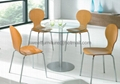 Sell glass dining table,tables,dining sets SA-5215C 4