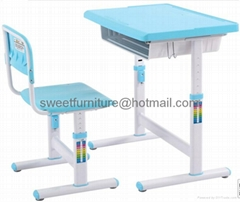 offer School furniture multifuntional desk and chair