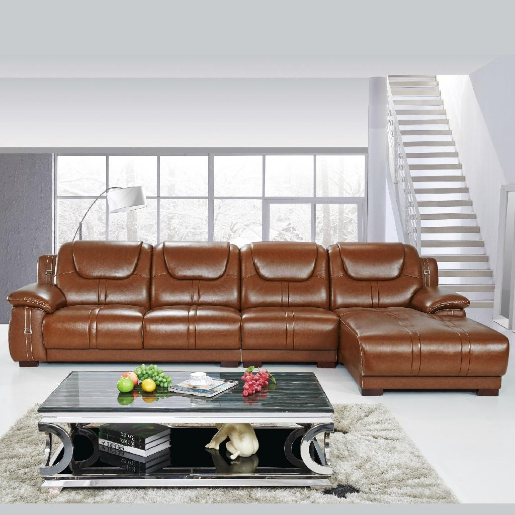 Offer top grain cow leather sofa sectional sofas directly for Factory sofas