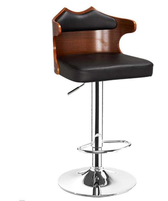 曲木酒吧椅,酒吧高腳椅,旋轉昇降吧椅 1