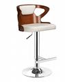 曲木酒吧椅,酒吧高腳椅,旋轉昇降吧椅 3