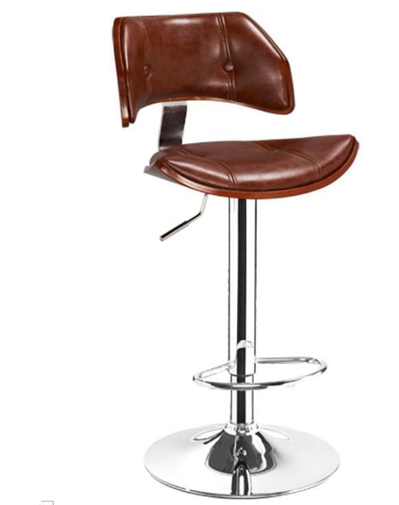 曲木酒吧椅,酒吧高腳椅,旋轉昇降吧椅 5