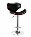 曲木酒吧椅,酒吧高腳椅,旋轉昇降吧椅 6