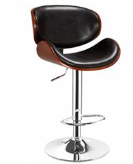 銷售曲木酒吧椅,酒吧高腳椅,旋轉昇降吧椅