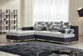 新款地中海布艺沙发 高弹海绵沙发 客厅组合转角布艺沙发特价批发 3