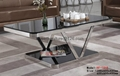 Sell round glass coffee table,stainless steel ceter tables 4