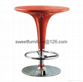 offer oval ABS glass table,Fiber Glass coffee table 4