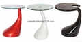 offer ABS glass table,Fiber Glass coffee table 3