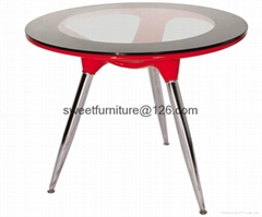 supply round ABS table,recepit table,business table
