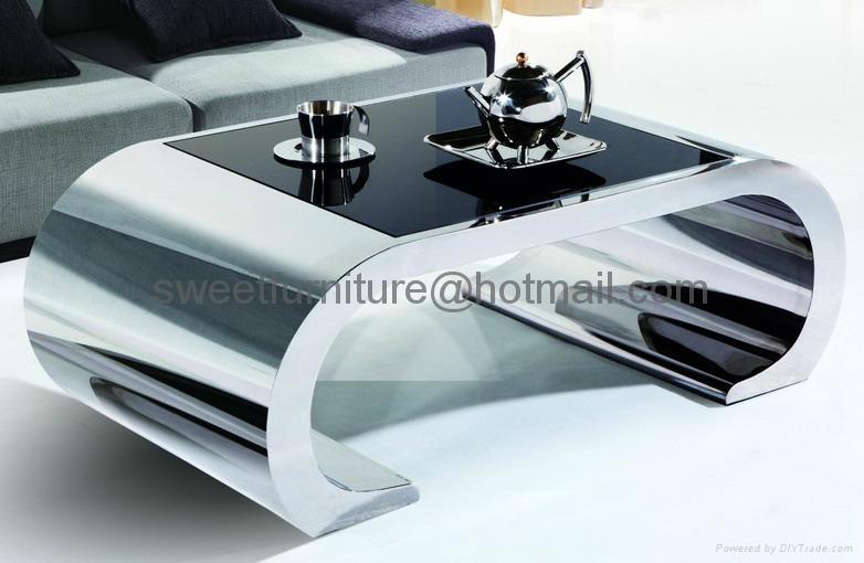 coffee table stainless steel table steel table  1