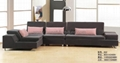 销售客厅组合转角布艺沙发