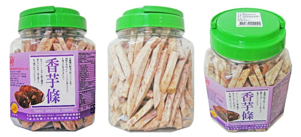 TARO STRIPS 280G PLASTIC POT 1