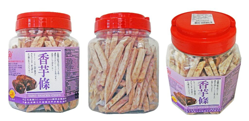 TARO STRIPS 280G PLASTIC POT 2