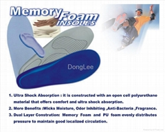 Memory foam insole (Hot Product - 1*)