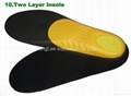 Two layer insole