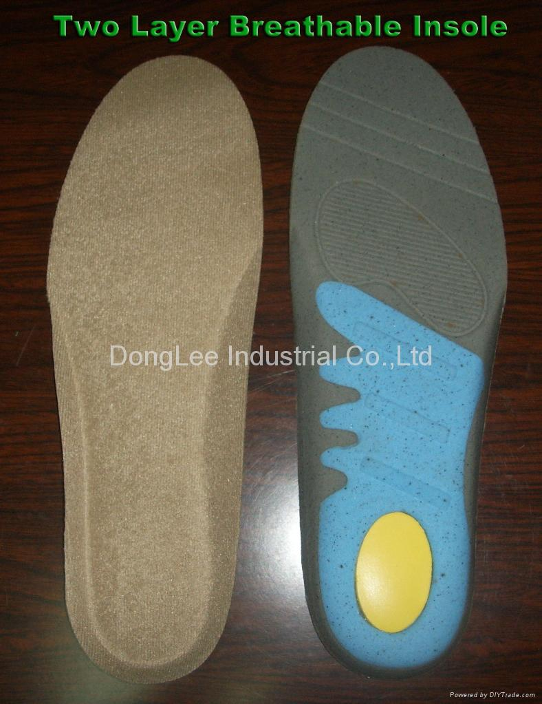 Breathable insole 2