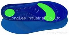 Two density gel insole