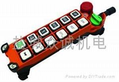 台湾禹鼎F25系列10键起重机遥控器