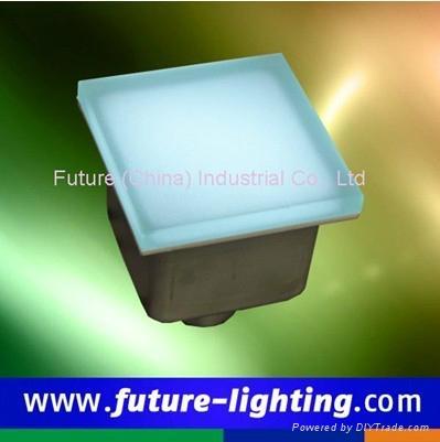100*100 Led Floor tile brick light 2