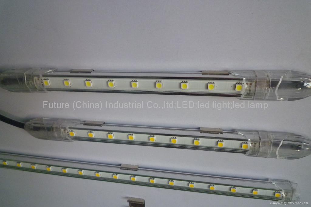 100CM  白色  SMD 5050 LED 鋁燈條 4