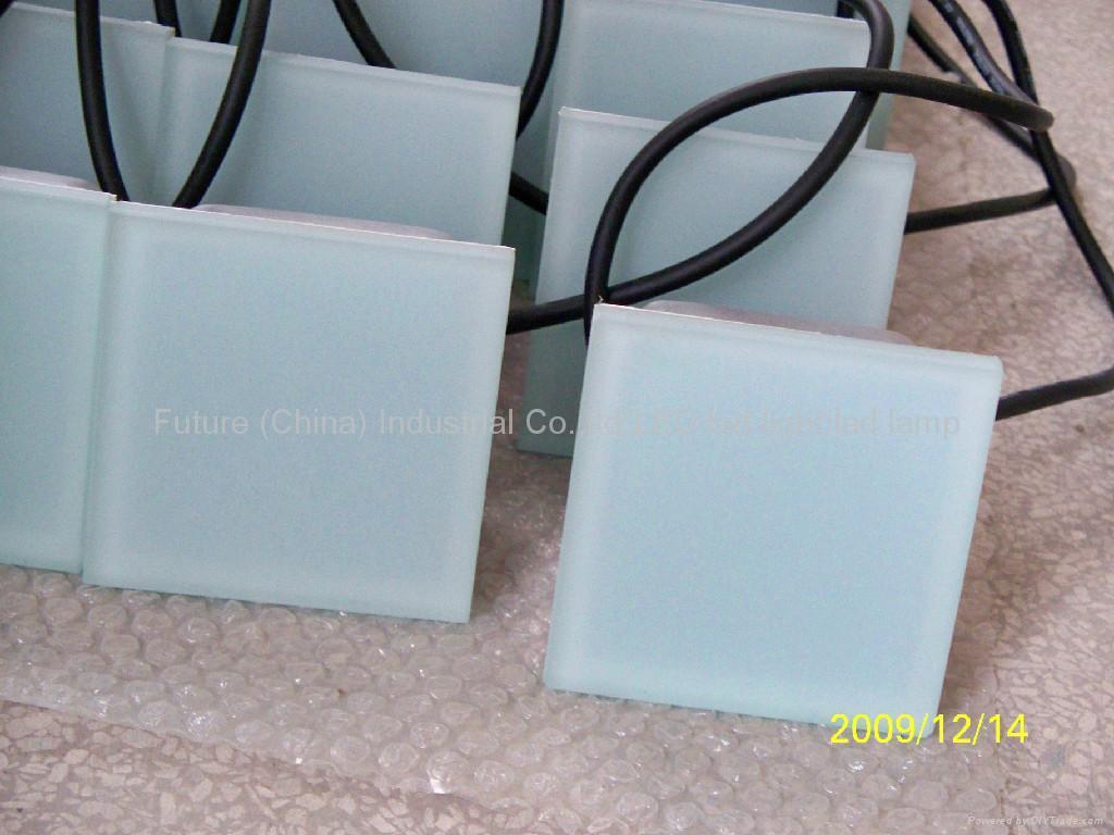 100*100 Led Floor tile brick light 3