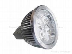 4x1w spotlight MR16/GU10/E27