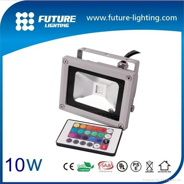 10W RGB led floodlight