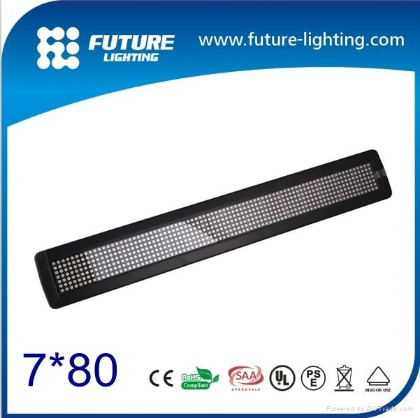 2 inch 7X80 Tricolor LED Moving indoor display 1