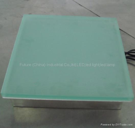 IP67 garden light glass tile led paver light 5