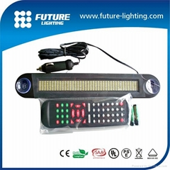 7*40 LED car moving message sign