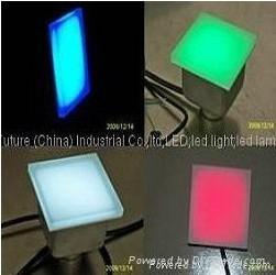 100*100  LED 地磚燈  LED 燈 4