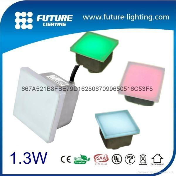 100*100 Led Floor tile brick light 1